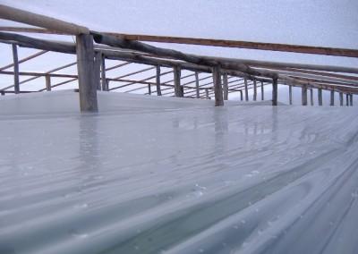 Film para doble techo de invernáculos