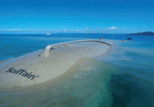 Tubos Geosintéticos para Protección Costera
